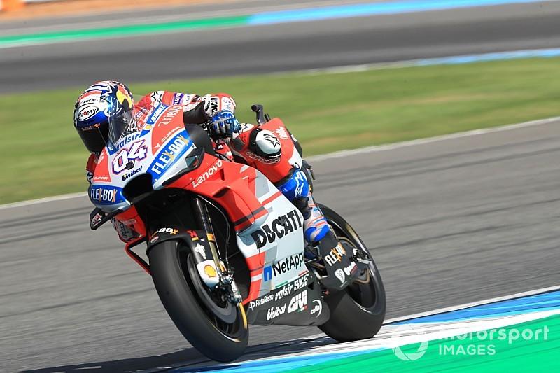 EL4 - Dovizioso en tête, Márquez retrouve des couleurs