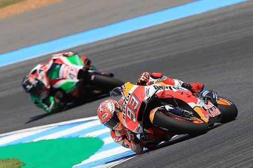 Marquez firma la 50esima pole in MotoGP a Buriram, ma Rossi è solo a 11 millesimi!