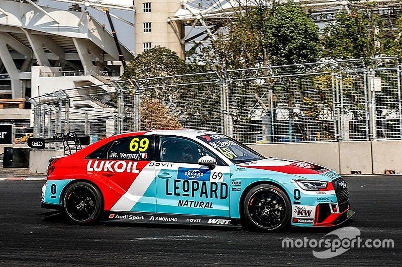 Jean-Karl Vernay e l'Audi trionfano senza patemi in Gara 1 a Wuhan