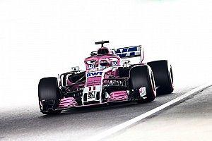 """Pérez: """"Ocon demostró lo competitivo que está el coche en Suzuka"""""""