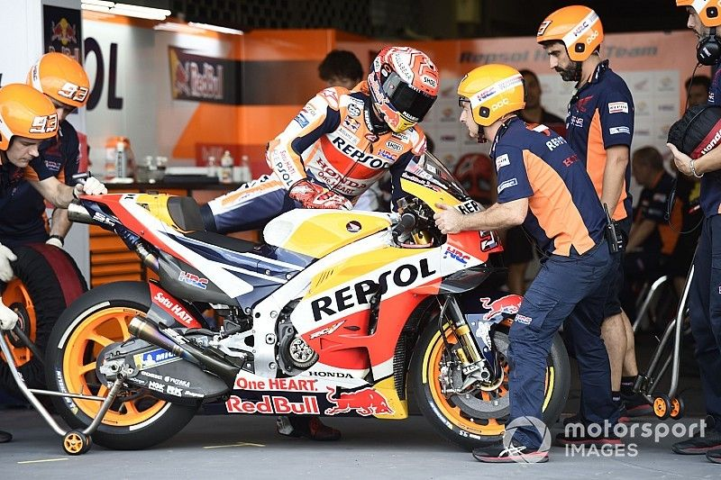 MotoGP Warm-up in Thailand: Yamaha-Duo ist Marquez auf den Fersen