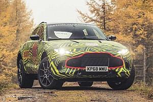 Vidéo - L'Aston Martin DBX à l'échauffement sur le Nürburgring