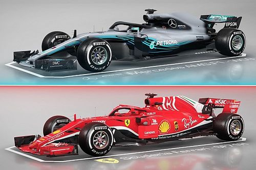 Mercedes W09 vs Ferrari SF71H : le match technique