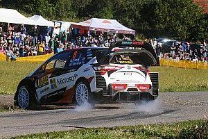 Shakedown - Tänak et Latvala placent Toyota en tête