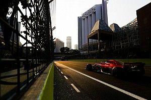 Пилоты Ferrari стали быстрейшими в субботней тренировке в Сингапуре
