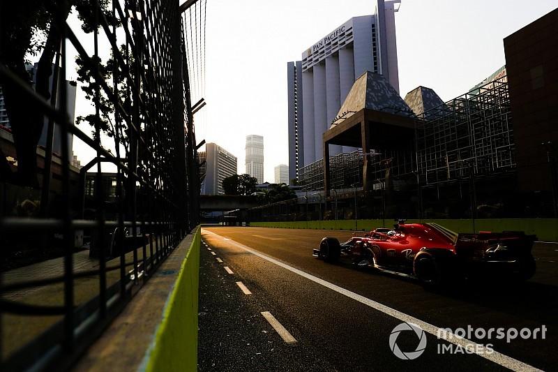 Ferrari se impone con rotundidad en los terceros libres de Singapur