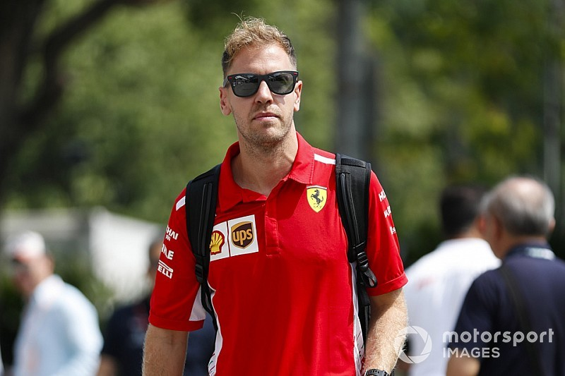 A Ferrari nem fog ujjal mutogatni Vettelre