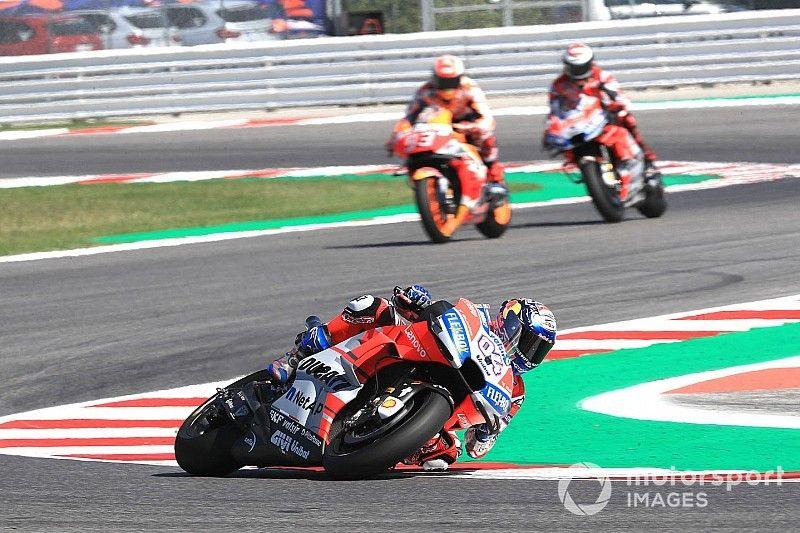 Aragon a key test of Ducati progress - Dovizioso