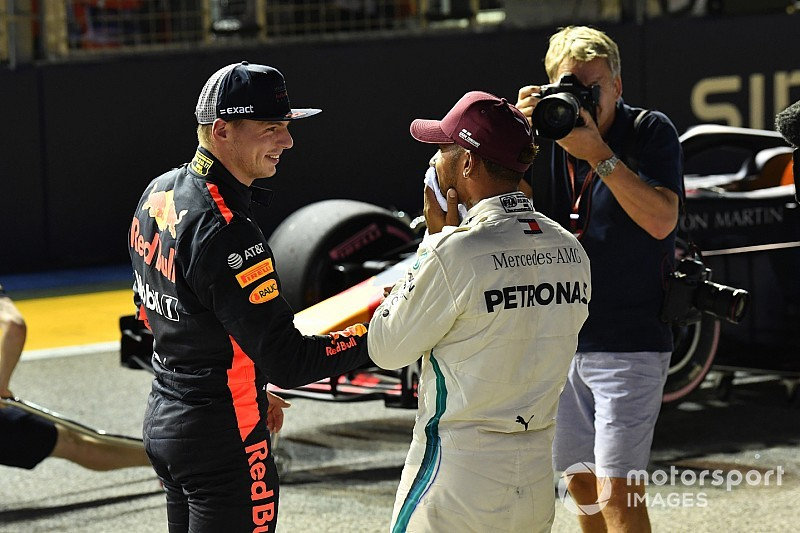 """Verstappen: """"Con el coche de Hamilton, también ganaríamos Vettel, Ricciardo o yo"""""""