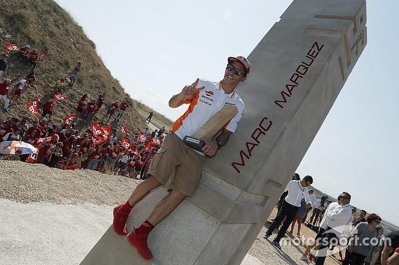 Fotos: Aragon benennt Kurve 10 nach Marc Marquez