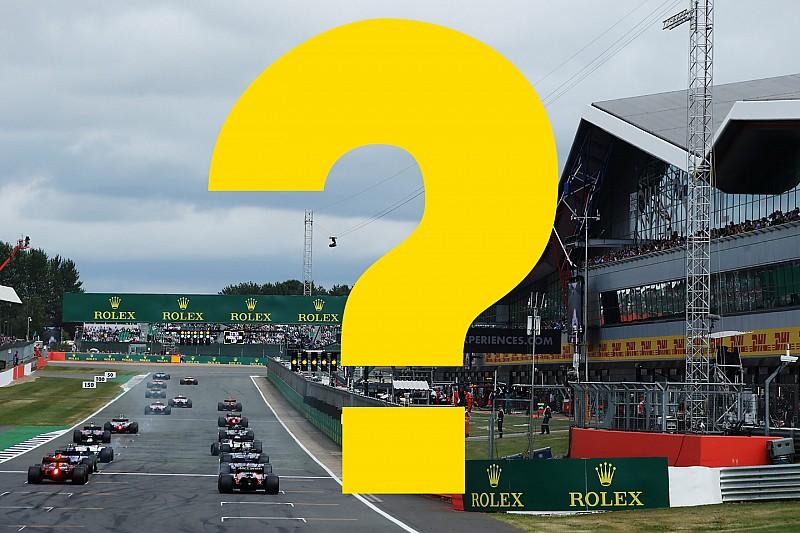 Всего год назад. Вспомните ли вы прошлый Гран При Великобритании?