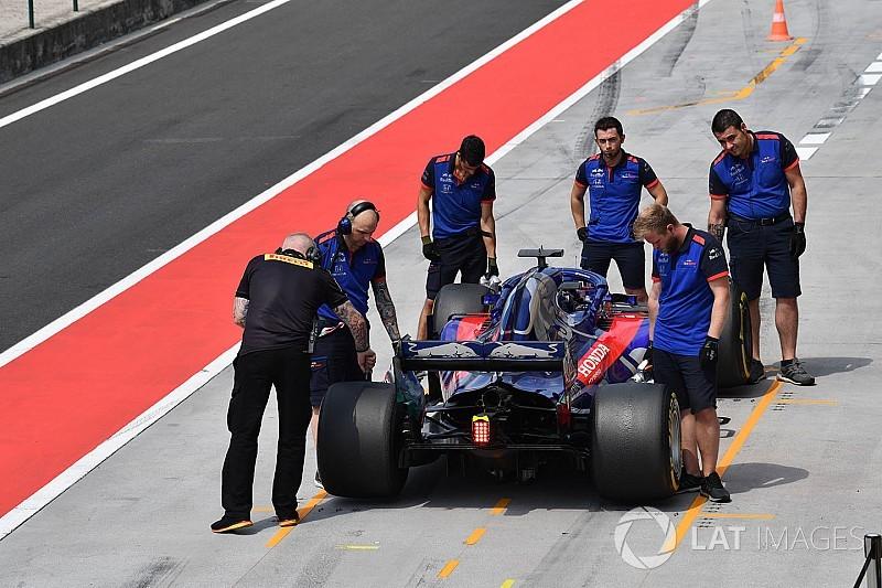 Nem érte el a célját a fejlesztéseivel a Toro Rosso