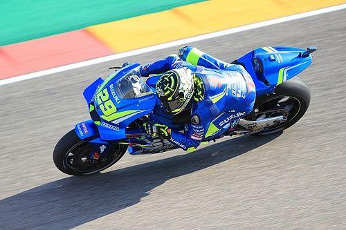 MotoGP Aragon: Iannone puncaki warm-up, Marquez terjatuh