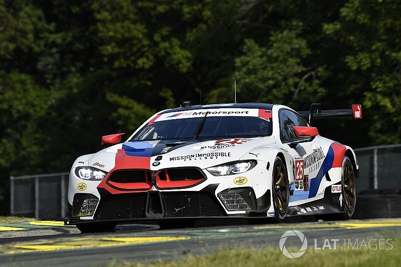 Sims e De Philippi regalano alla BMW M8 la prima vittoria assoluta in Virginia