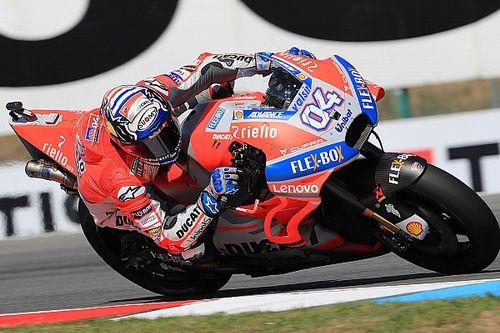 Strepitoso Dovizioso: la Ducati torna in pole a Brno dopo 10 anni. Bene Valentino, secondo su Marquez