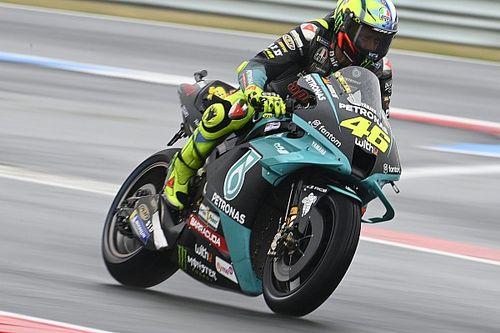 Rossi: Saya Tidak Cukup Bagus Bertarung untuk Podium