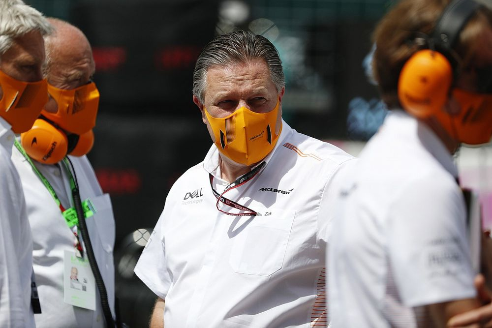 Brown: F1 no puede bajar la guardia ante aumento de casos por COVID