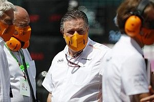 Brown: F1 can't let guard down as UK COVID cases spike