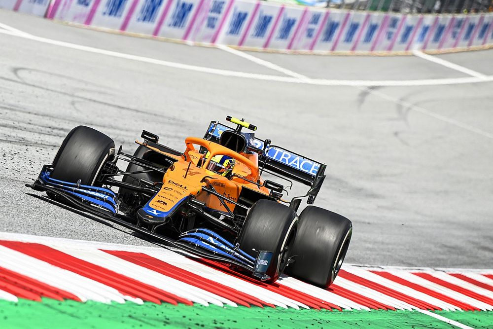 Fortunes diverses pour McLaren au GP de Styrie