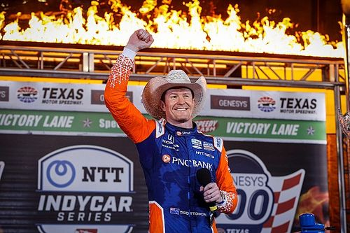 Dixon on verge of matching Mario Andretti's win tally after Texas victory