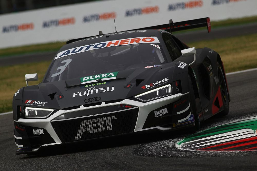 Van der Linde snelt naar pole-position voor tweede DTM-race