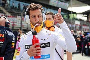 Ricciardo w lepszym humorze