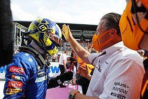 Norris: nagy szerepet játszottak a McLaren főnökei a fejlődésemben