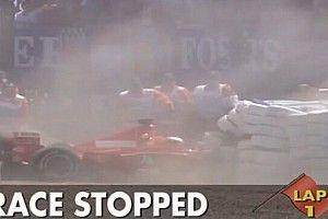 22 éve szenvedett kettős lábtörést Michael Schumacher