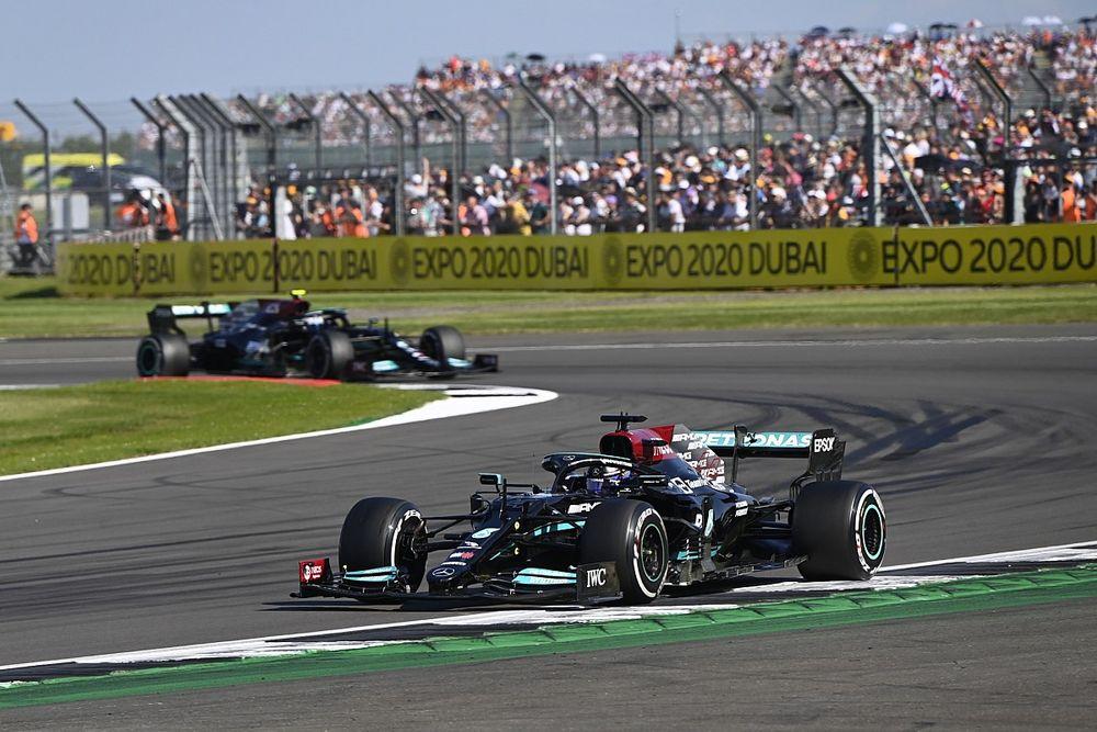 """Mercedes'in, Britanya GP'de iyi performans göstermekten """"başka çaresi yoktu"""""""