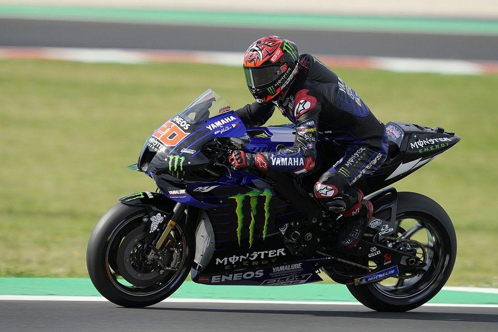 """Quartararo: """"Esperaba más del nuevo motor Yamaha"""""""