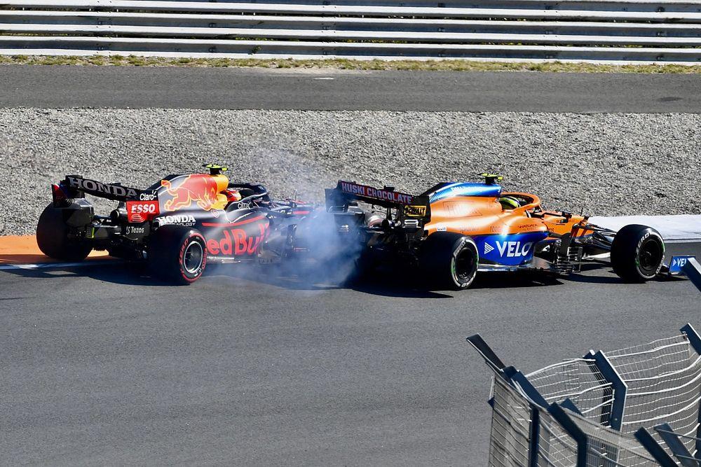"""Rosberg: """"Norris podría haber causado un gran accidente con Pérez"""""""