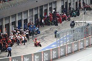 La locura de la carrera de MotoGP en Austria, en fotos