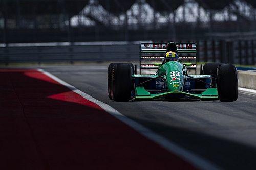 Mick Schumacher, babasının ilk F1 aracını Silverstone'da sürdü