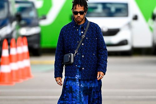 Hamilton hopes 'daring' F1 fashion choices helps open minds