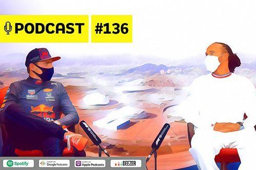 Podcast #136 – Ju Cerasoli faz raio-X da rivalidade Hamilton X Verstappen de quem acompanha direto do paddock