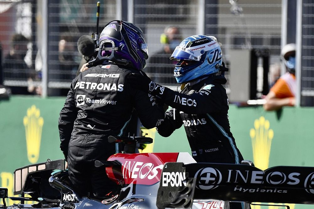 """Hamilton a """"des relations meilleures que jamais"""" avec Bottas"""