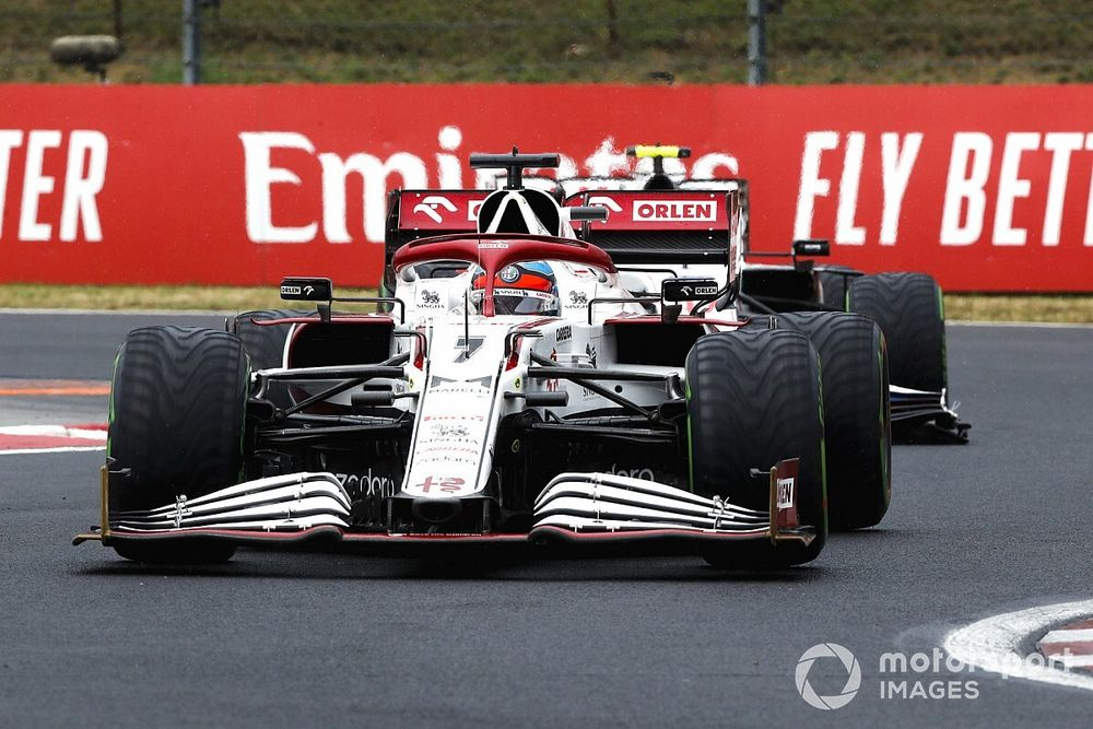Raikkonen's Hungary F1 pit clash with Mazepin caused by traffic light issue