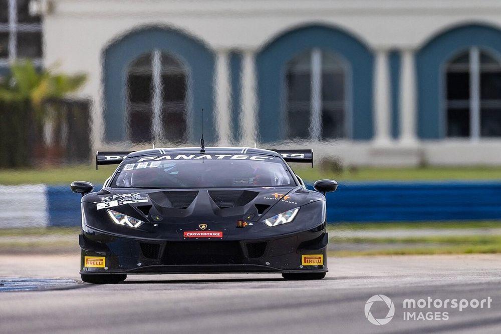 Lamborghini conquista a Sebring la tripla corona del GTWC America