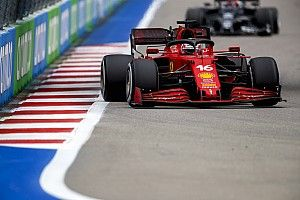 Leclerc vows to learn from losing F1 points in late Sochi rain shower