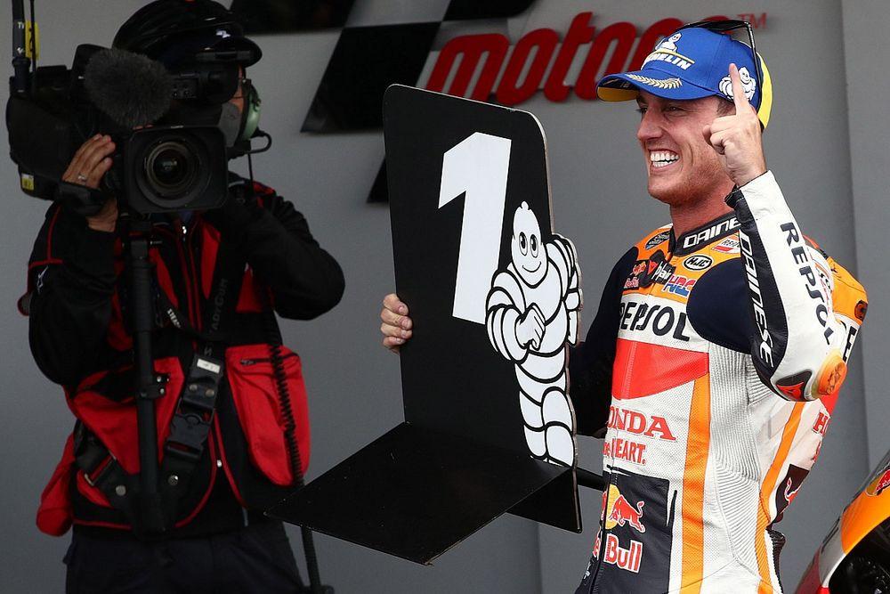 Pol Espargaró consigue su primera pole position con Honda