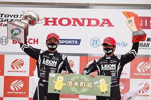 18年王者の65号車LEONが久々の優勝。「勝てない悔しさを払拭できた」と蒲生尚弥