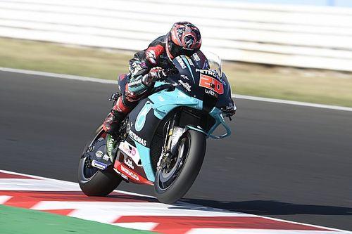 Misano MotoGP: Quartararo leads Petronas 1-2 in FP2
