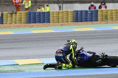 """Tres caídas seguidas de Rossi: """"Cada error tuvo su historia"""""""