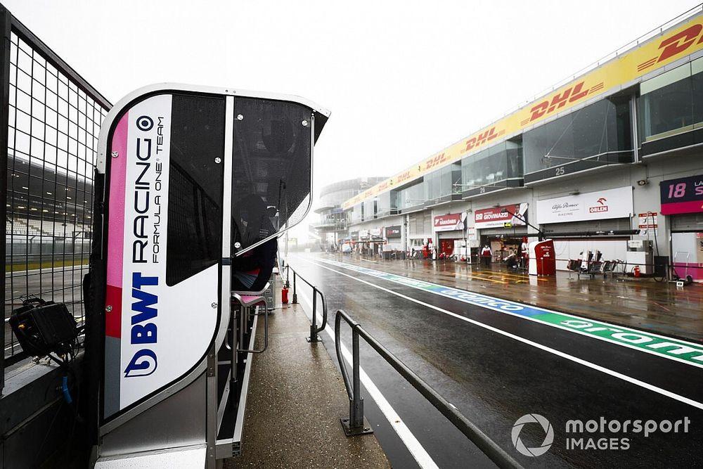 Neblina força cancelamento do primeiro treino livre para o GP de Eifel de F1 em Nurburgring