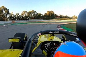 Vidéo - Le test d'Alonso avec Renault en images