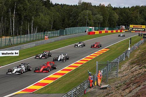 Williams se ve luchando con Ferrari en el GP de Bélgica