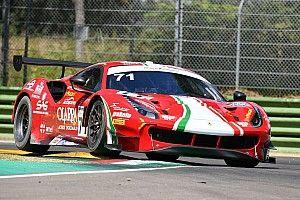 GT Endurance: Ferrari in pole con AF Corse ad Imola