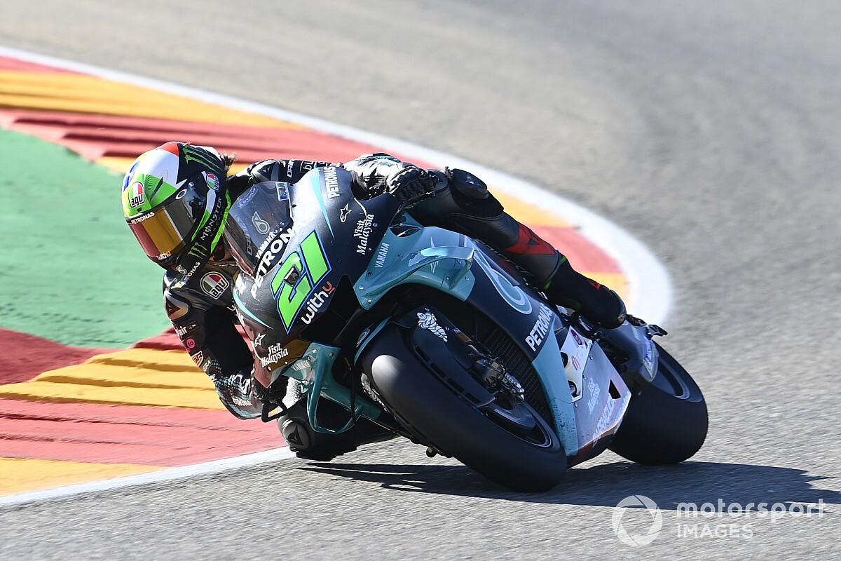 MotoGP, Teruel, Libere 3: svetta Morbidelli, Ducati in Q1