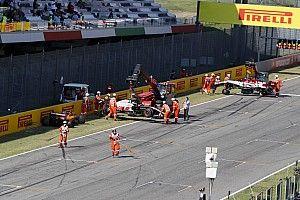 Mugello'daki start kazasından ötürü 12 sürücü uyarı aldı