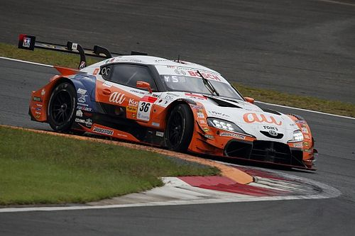 Fenestraz pierde terreno en SUPER GT después de Fuji